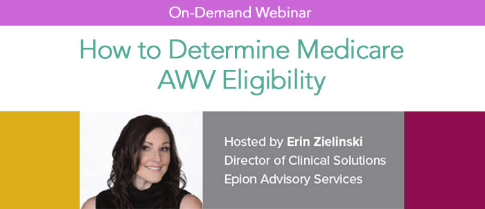 How to Determine Medicare AWV Eligibility